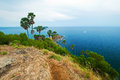 Promthep cape phuket thailand landmark of Royalty Free Stock Images