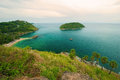 Promthep cape phuket thailand landmark of Royalty Free Stock Photos