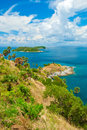 Promthep cape phuket thailand landmark of Stock Images