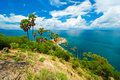 Promthep cape phuket thailand landmark of Royalty Free Stock Image