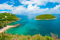Promthep cape phuket thailand landmark of Royalty Free Stock Photo