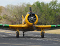 Propeller airplane Stock Photos