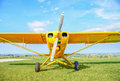 Propeller airplane Royalty Free Stock Photo