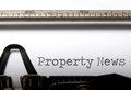 Property News Royalty Free Stock Photo