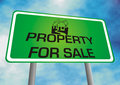 Property for sale Stock Image