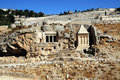 The prophets revenge tomb of Zechariah Royalty Free Stock Photo