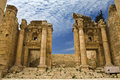 The Propylaea in Jerash Royalty Free Stock Photography