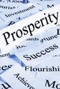 Prosperity Concept Royalty Free Stock Photo