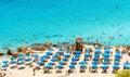 PROTARAS, CYPRUS, Konnos Beach Royalty Free Stock Photo