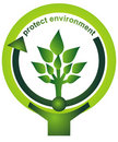 Protect environment Royalty Free Stock Photo