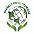 Protect environment icon