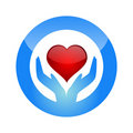 Protect heart Royalty Free Stock Photo