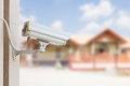 Protect your property cctv camera Royalty Free Stock Photo