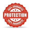 100 protection guarantee icon