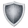 Protection shield Royalty Free Stock Image