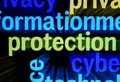 Protection word cloud Stock Images