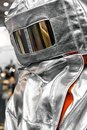 Protective clothes of a firefighter Royalty Free Stock Photo