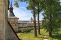 Protective strengthening of Kirillo-Belozersky Monastery Royalty Free Stock Photo