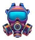 Protective toxic mask