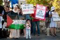 Protest Against Israeli Settlements Stock Photography
