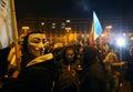 Protest in Bucharest, Romania