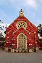 Protestant church in ahmedabad gujarat insia Stock Photo