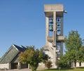 Protestant church in effretikon switzerland Stock Images