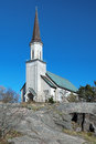 Protestant church in Hanko, Finland Royalty Free Stock Photo