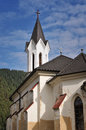 Protestant church in the Kralova Lehota Stock Images