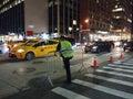 Traffic Officer, NYPD, NYC, NY, USA Royalty Free Stock Photo