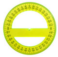 Protractor Royalty Free Stock Photo