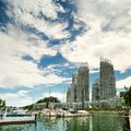 Protrait View Of Keppel By The Bay Royalty Free Stock Photos