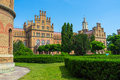 The proud of chernivtsi ukraine june huge complex national univercity is former residence bukovinian and dalmatian metropolitans Royalty Free Stock Photos