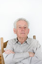 Proud old man Royalty Free Stock Photo