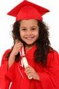 Proud Preschool Girl Graduate ...