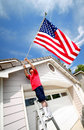 Proud To Be An American Stock Photography