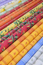 Provencal fabrics Stock Photos