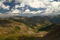 Provence alps col de l�izoard france mountain in Royalty Free Stock Photo