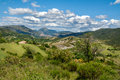 Provence france landscape in the southern Royalty Free Stock Photos