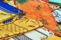 Provence tablecloths Zdjęcie Royalty Free