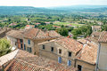 Provence typical city landscape france Stock Photography