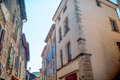 Provence typical city outdoors france Stock Image