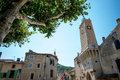 Provence typical city outdoors france Stock Photography