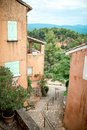 Provence typical city outdoors france Royalty Free Stock Images