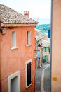 Provence typical city outdoors france Stock Images