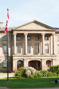 Province house in charlottetown capital of prince edward island Royalty Free Stock Image