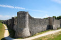Provins france paris region seine et marne historic walls of medieval city Stock Photography