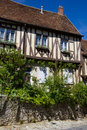 Provins historic buildings Royalty Free Stock Photo