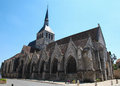 Provins sainte croix church in medieval city seine et marne paris region france Stock Photo