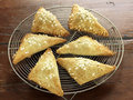 Prune turnovers Royalty Free Stock Photo